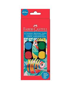Acuarela Faber Castell 12 Colores