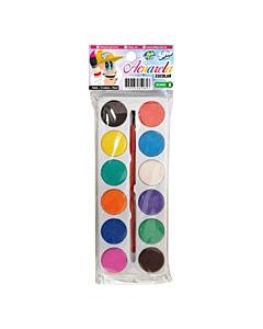 Acuarela Sifap 12 Colores