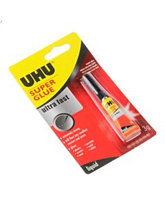 Adhesivo Uhu Super Glue x 3 Gr.