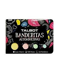 Banderines Talbot 18,75 x 50 Mm. Pastel