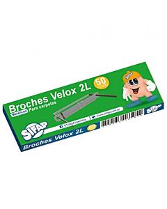 Broches Veloz Sifap 2L 20 Cm. x 50 Un.