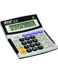 Calculadora Ecal TC22 12 Dígitos