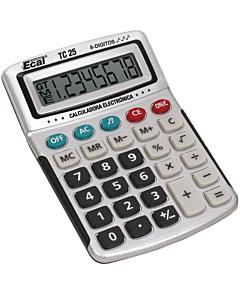 Calculadora Ecal TC25 8 Dígitos