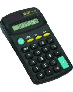 Calculadora Ecal TC31 8 Dígitos