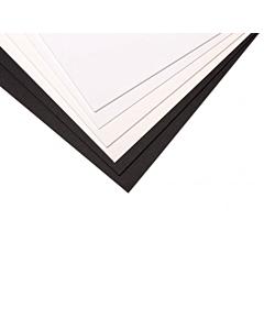 Cartón Paspartú 50 x 70 Cm. Negro