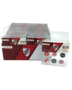 Chinches Mooving con Galera River Plate x 9 Un.