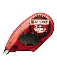 Cinta Corrector Micro x 12 M. con Grip