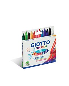 Crayones Giotto Cera Maxi x 12 Un.