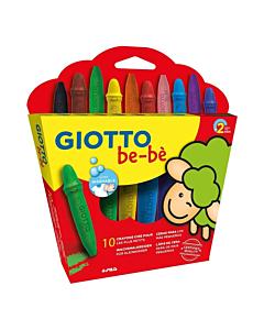 Crayones Giotto Bebé x 10 Un.