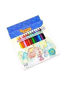 Crayones Jovi Plásticos x 12 Un.