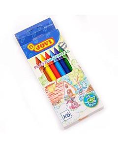 Crayones Jovi Plásticos x 6 Un.