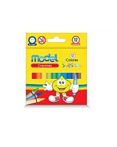 Crayones Model Acuarelables x 6 Un.