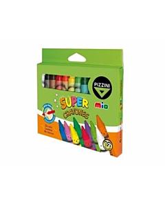 Crayones Pizzini Mio x 12 Un.