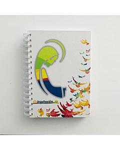Cuaderno GEO Inspiración Flores Grandes A5 Triple x 75 Hs.