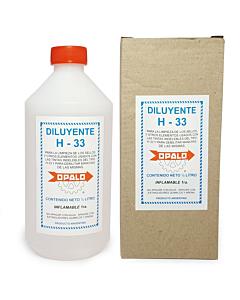Diluyente para Tinta Opalo H-33 x 500 Ml.