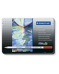 Lápices Staedtler Karat x 12 Un. Lata