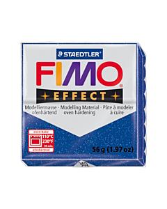 Masa Fimo Effect Azul Glitter x 57 Gr.