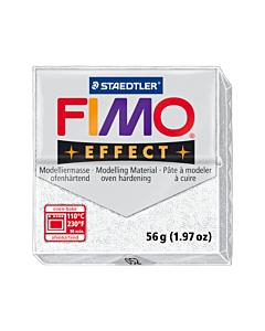 Masa Fimo Effect Blanco Glitter x 57 Gr.