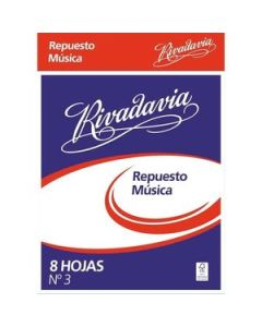 Repuesto de Música Rivadavia N°3 x 8 Hs.