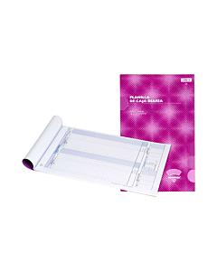 Talonario Ad Astra 1001S Planilla de Caja Diaria x 50 Hs.