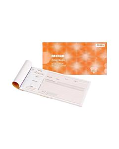 Talonario Ad Astra 7080S Recibo con Talón x 50 Hs.