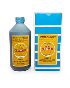 Tinta Indeleble Opalo H-33 Negro x 500 Ml.