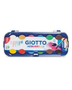 Acuarela Giotto Acquerelli 12 Colores