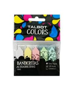 Banderines Talbot 12 x 44 Mm. Pastel