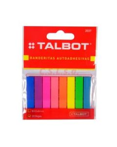 Banderines Talbot 8 x 45 Mm. Flúo