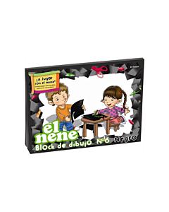 Block El Nene N°6 Negro x 24 Hs.