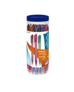 Bolígrafos Paper Mate Ink Joy 100RT Retractil 1 Mm. x 24 Un.