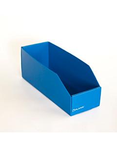 Repuestera Plana N°2 Plástico Azul