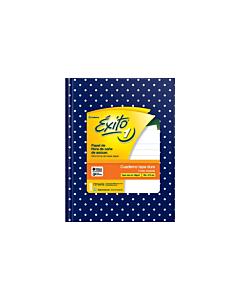 Cuaderno Éxito E1 N°3 Rayado Azul Lunares x 48 Hs.