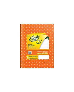 Cuaderno Éxito E1 N°3 Rayado Naranja Lunares x 48 Hs.