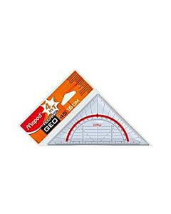 Escuadra Maped Technic Geo 45° 16 Cm.