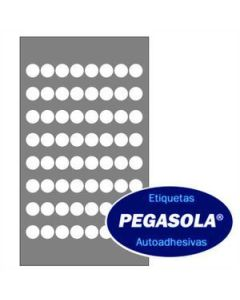 Etiquetas Pegasola 3004 15 Mm. x 1920 Un.