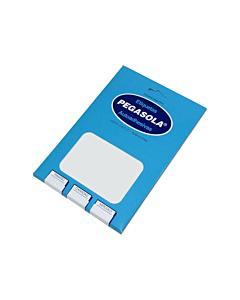 Etiquetas Pegasola 3012 8 x 20 Mm. x 2250 Un.