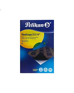 Carbónico Pelikan Azul Oficio x 10 Un.