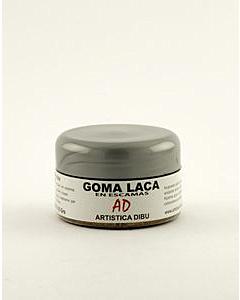 Goma Laca AD en Escamas x 25 Gr.