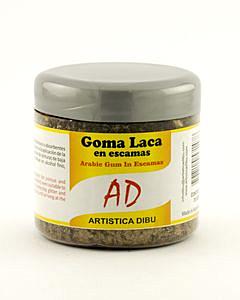 Goma Laca AD en Escamas x 70 Gr.