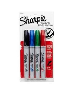 Marcadores Sharpie Brush x 4 Un.