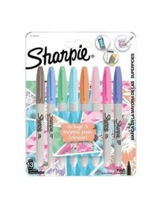 Marcadores Sharpie Fine Point Permanente x 8 Un. con Tarjeta