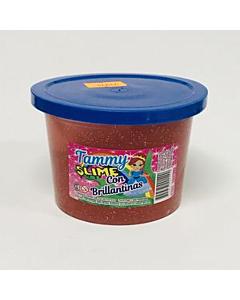 Masa Slime Miki Moko Tammy Rojo Glitter x 190 Gr.