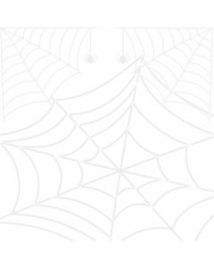 Papel Forro Araña Blanco