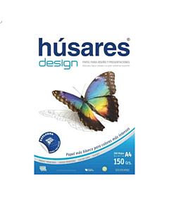 Resma Húsares Design A4 150 Gr. x 240 Hs.