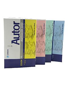 Resma Vision 22 x 34 Cm. Celeste 70 Gr. x 500 Hs.