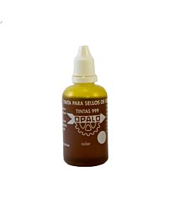 Tinta Opalo 999 con Gotero Amarillo x 60 Ml.