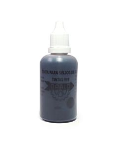 Tinta Opalo 999 con Gotero Negra x 60 Ml.